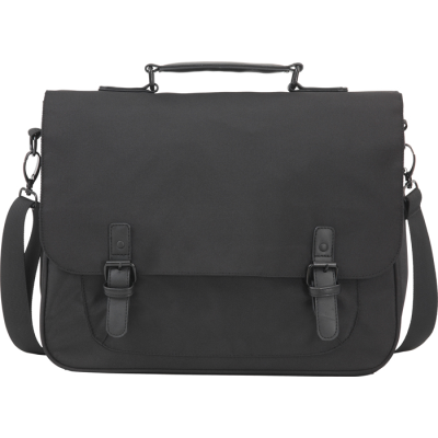 SPELDHURST EXECUTIVE BUSINESS MESSENGER BAG in Black.