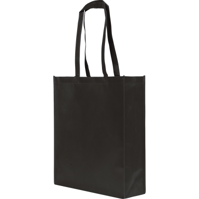 RAINHAM SHOPPER TOTE BAG in Black.