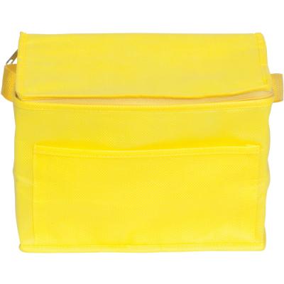 RAINHAM 6 CAN COOLER BAG in Yellow.