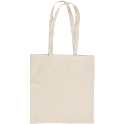 SANDGATE 7OZ COTTON CANVAS SHOPPER TOTE BAG in Natural.