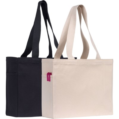 CRANBROOK 10OZ COTTON CANVAS SHOPPER TOTE BAG COLLECTION.