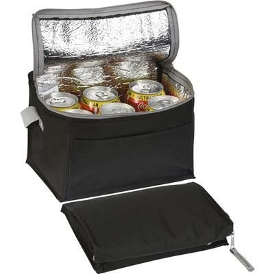 SMARDEN 6 CAN COOL BAG in Black.