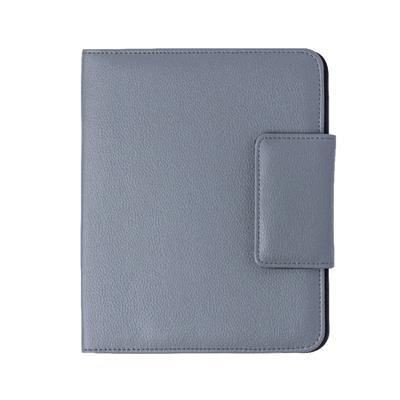 RICHMOND A5 PVC FOLDER in Grey.