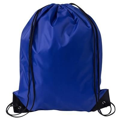 DRAWSTRING SPORTS BAG in Mid Blue.