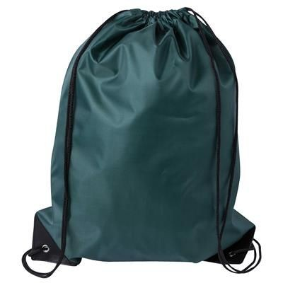 DRAWSTRING SPORTS BAG in Green.