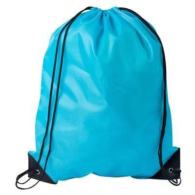 DRAWSTRING SPORTS BAG in Light Blue.