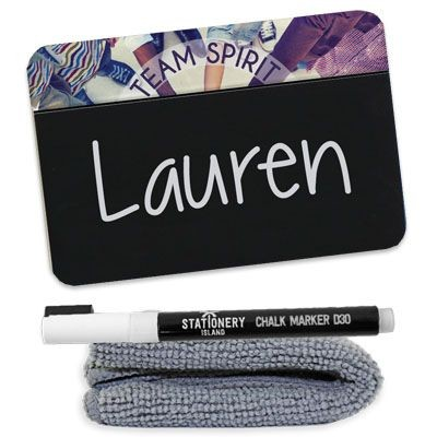 Picture of CHALKBOARD NAME BADGE