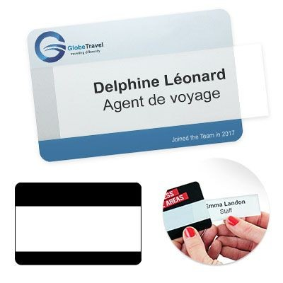 Picture of REUSABLE SELFIT® MEGATAG NAME BADGE 95 X 62MM