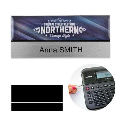 Picture of PREMIUM REUSABLE NAME BADGE 75 X 38MM
