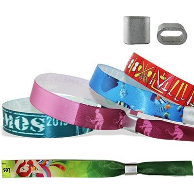 Picture of SATIN WRISTBAND with Metal Flat Closure Honolulu