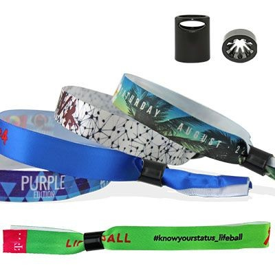 Picture of SMOOTH SATIN WRIST BAND with Plastic Sliding Clip Closure Sydney