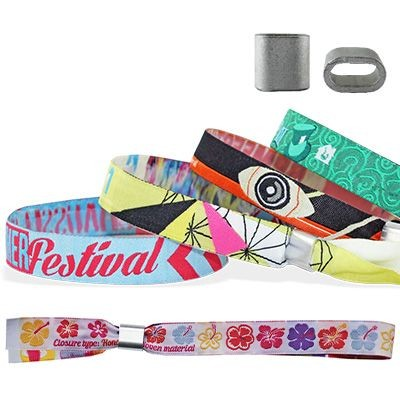 Picture of WOVEN WRISTBAND with Metal Flat Closure Honolulu