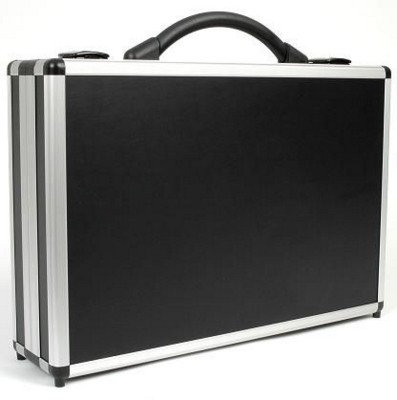 Picture of DIVIDE 100 PRESENTATION BRIEFCASE in Black