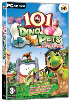 Picture of CD ROM - 101 DINO PETS