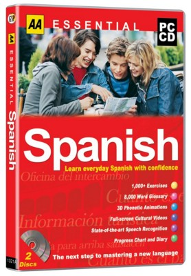 Picture of CD ROM - AA ESSENTIALS - LEARN SPANISH