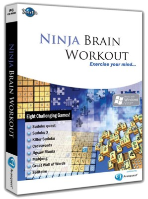 Picture of CD ROM - NINJA BRAIN WORKOUT