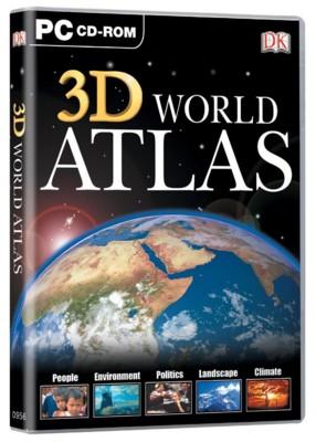 Picture of CD ROM - DK 3D WORLD ATLAS