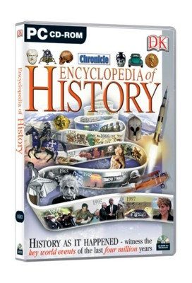 Picture of CD ROM - DK ENCYCLOPEDIA OF HISTORY
