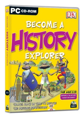 Picture of CD ROM - DK BECOME A HISTORY EXPLORER
