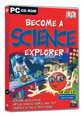 Picture of CD ROM - DK BECOME A SCIENCE EXPLORER