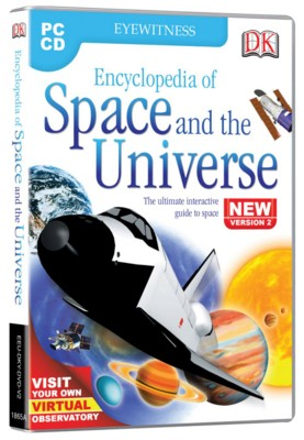 Picture of CD ROM - DK ENCYCLOPEDIA OF SPACE AND THE UNIVERSE