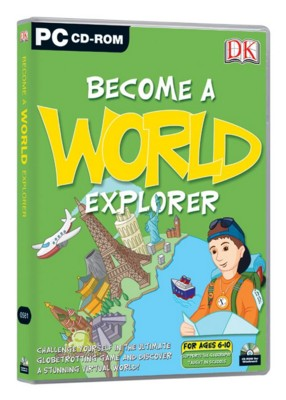 Picture of CD ROM - DK BECOME A WORLD EXPLORER