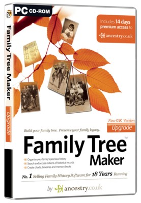 Picture of CD ROM - FAMILY TREE MAKER