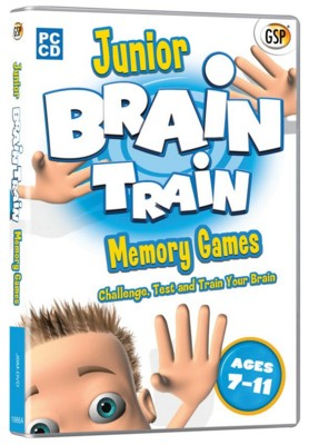 Picture of CD ROM - JUNIOR BRAIN TRAINING - MEMORY CD