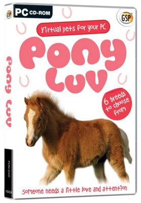 Picture of CD ROM - VIRTUAL PETS - PONY LUV