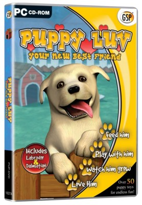 Picture of CD ROM - VIRTUAL PETS - PUPPY LUV