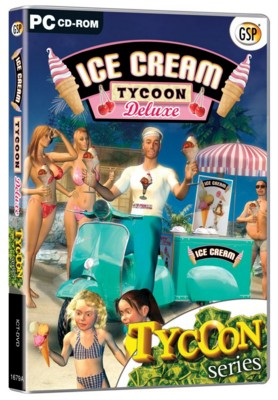 Picture of CD ROM - ICE CREAM TYCOON