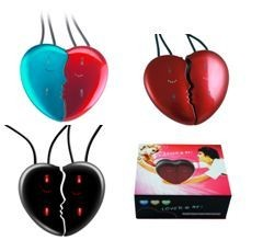 Picture of HEART SHAPE SET OF 2 MP3 PLAYERS