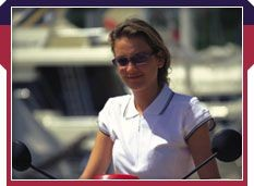 Picture of QUARTER SLEEVE LADIES POLO SHIRT with TIPPED COLLAR & CUFFS