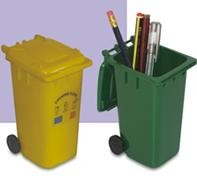 Picture of PLASTIC RUBBISH WASTE WHEELIE BIN PEN POT