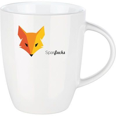Picture of SENATOR ELITE PORCELAIN TAPERED MUG in Favoured Design