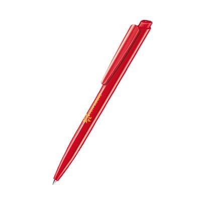 Picture of SENATOR DART POLISHED PLASTIC BALL PEN in Strawberry Red