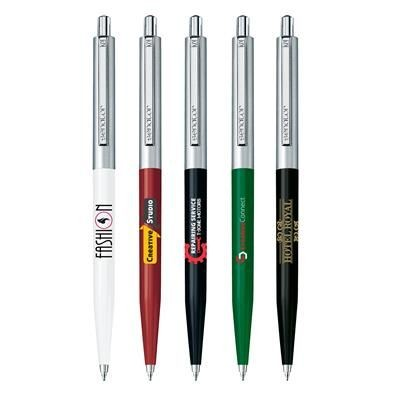Picture of SENATOR POINT METAL BALL PEN in White