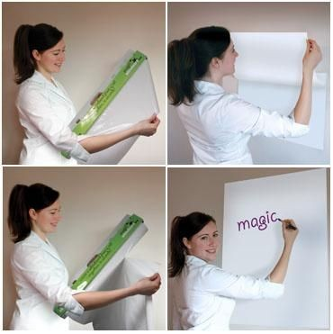 Picture of MAGIC WHITEBOARD REUSABLE FLIP CHART