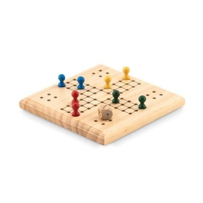 Picture of WOOD LUDO GAME