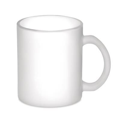 Picture of MATT GLASS MUG 300 ML CAPACITY with Special Coating for Sublimation