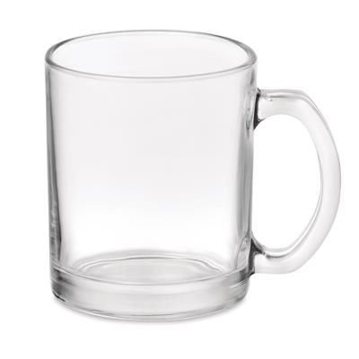 Picture of GLOSS GLASS MUG OF 300 ML CAPACITY with Special Coating for Sublimation