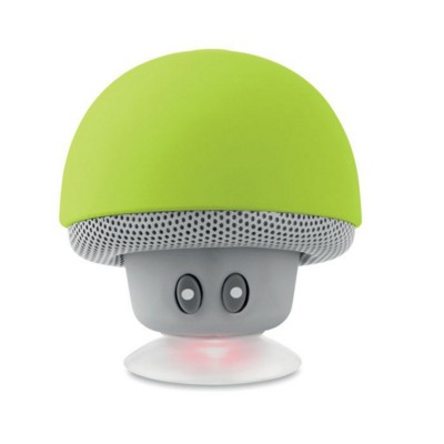 Picture of MUSHROOM SHAPE BLUETOOTH SPEAKER-PHONE STAND in Abs with Suction Cup