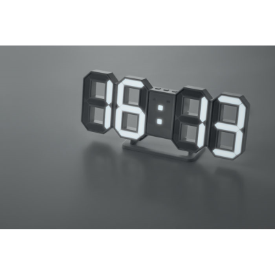 Picture of LED DIGITAL WALL ALARM CLOCK - INCLUDES AC ADAPTOR