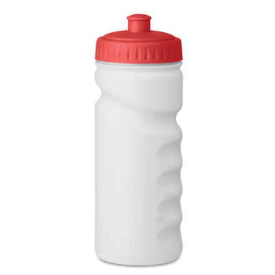 Picture of SPORTS DRINK BOTTLE with Convenient Handgrip in Solid Pe Plastic Which is Bpa Free