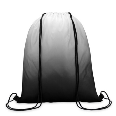 Picture of DRAWSTRING BAG in 210d Polyester with Graduating Colour Effect & Matching Colour String
