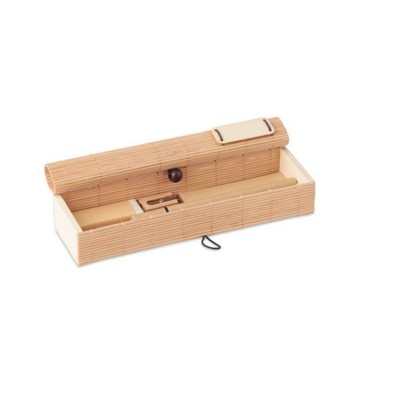 Picture of BAMBOO STATIONERY SET