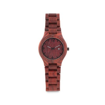 Picture of FASHIONABLE NATURAL WOOD ANALOGUE QUARTZ WRIST WATCH
