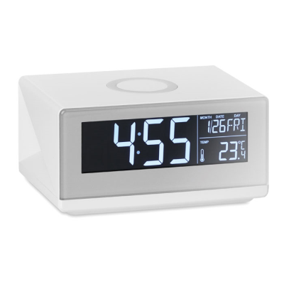 Picture of CORDLESS CHARGER WEATHER STATION - TOUCH SENSOR ALARM CLOCK with Nightlight