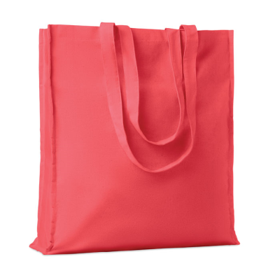 Picture of COTTON SHOPPER TOTE BAG W &  GUSSET