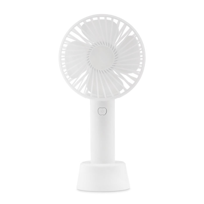 Picture of SMALL PORTABLE FAN with Additional Stand to Use as Desk Fan